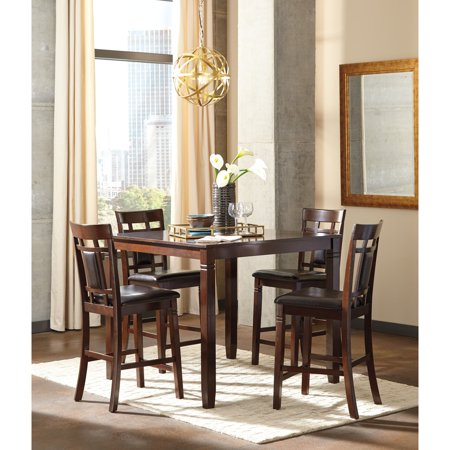 Designer Dining Table Set (Signature Design by Ashley Bennox 5 Piece Counter Height Dining Table)