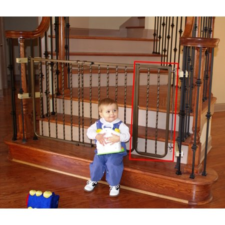 Cardinal Gates Extension for Wrought Iron Dcor Pet Gate 10.5-Inch Black