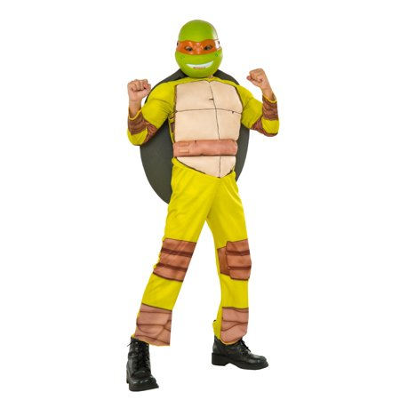 Teenage Mutant Ninja Turtles Deluxe Michelangelo Costume - Ninja Turtle Womens Costume