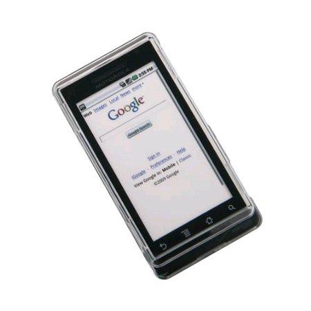 Verizon Motorola Droid A855 Snap-On Hard Case (Clear) (Bulk Packaging) - image 1 de 1