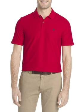 IZOD Men's Advantage Performance Comfort Stretch Solid Polo Shirt