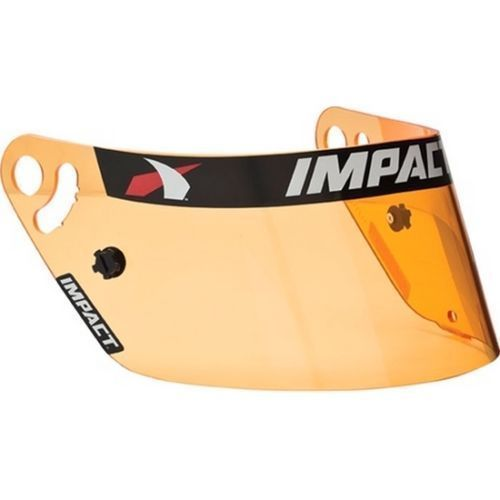Impact Racing 12199904 Anti-Fog Helmet Shield Amber - Impact Vapor/Air Vapor