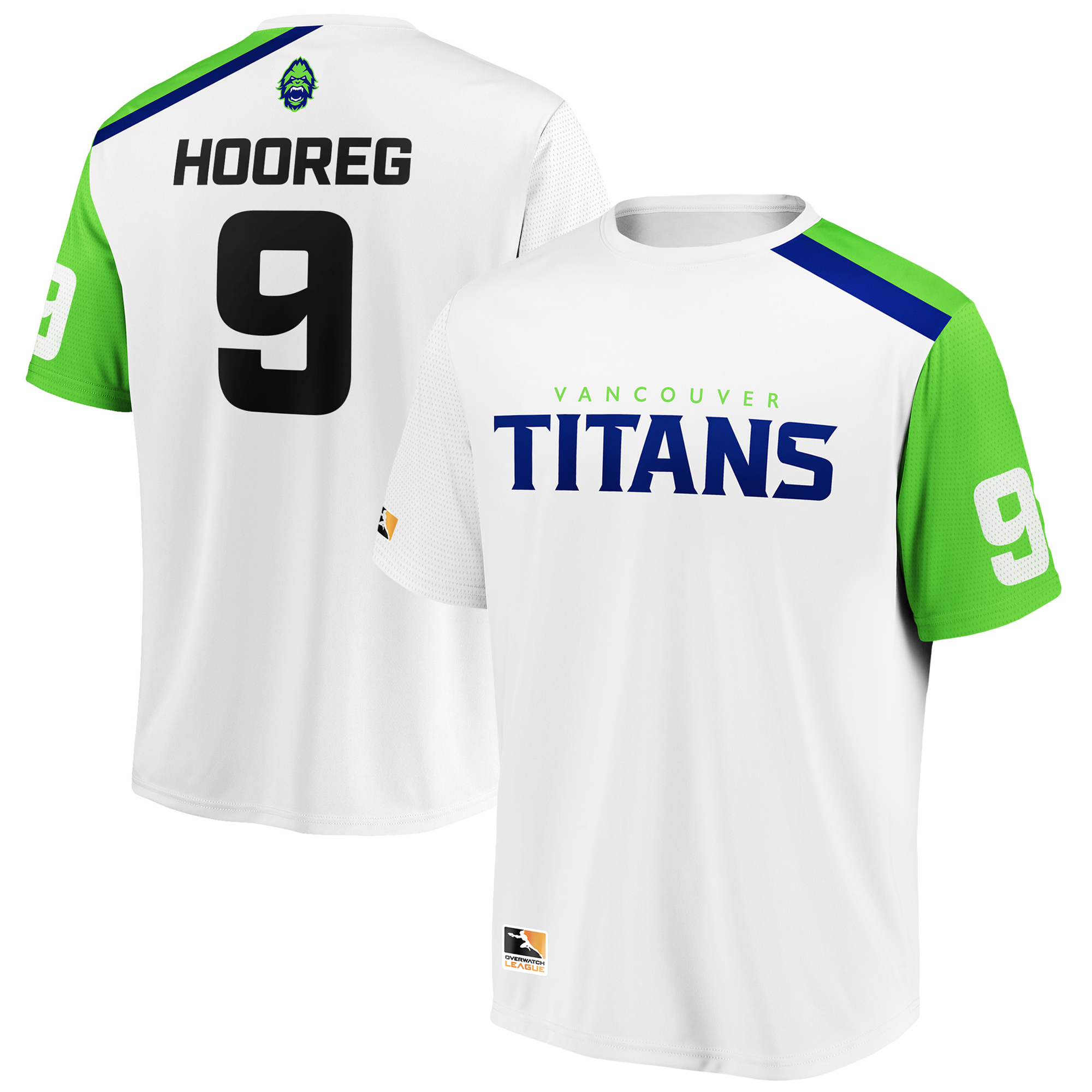Hooreg Vancouver Titans Overwatch League Replica Away Jersey - White