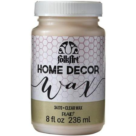 FolkArt   Home Decor Wax by Plaid - Clear, 8 oz.
