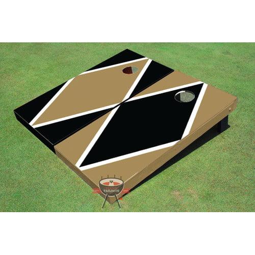 All American Tailgate Alternating Diamond Cornhole Board (Set of 2)