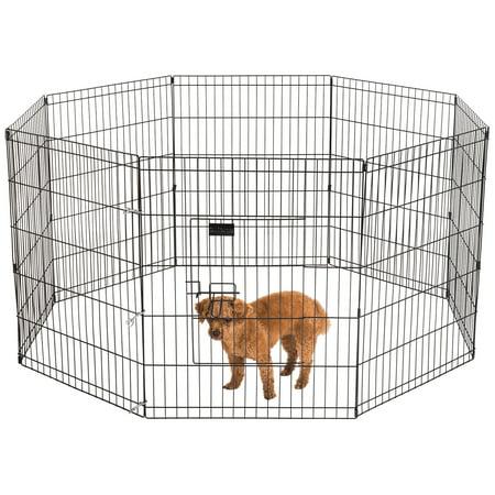 Ollieroo 24 X30 Dog Playpen Exercise Pen Fence Pet Outdoor Indoor Cage