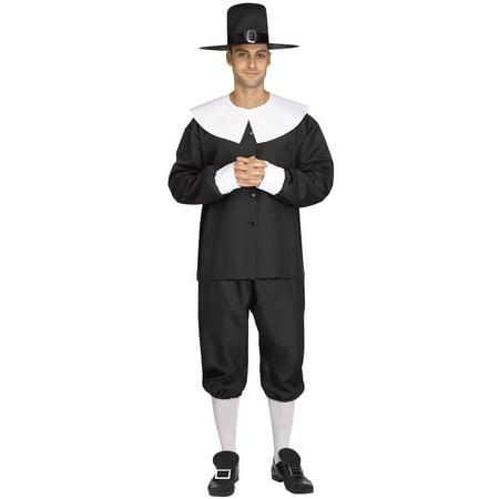 American Pilgrim Man Adult Costume (Pilgrim Costume Adult)