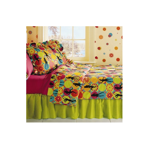 Room Magic Flower Power 3 Piece Comforter Set