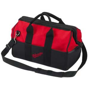 Milwaukee Electric Carrying Case - Milwaukee Electric Tools 48-55-3490 Heavy Duty Tool Contractor Storage Bag, 33 Pocket, Tough And Water Rresistant
