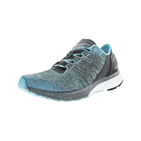 online retailer 81fc9 e794f Under Armour Women's Charged Bandit 2 Venetian Blue / Rhino Gray Ankle-High  Running Shoe - 6.5M