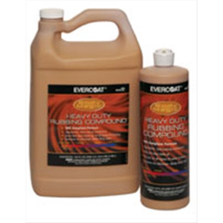 Heavy Duty Rubbing Compound - Heavy Duty Rubbing Compound, 1-Quart Fibre Glass-Evercoat 21 FIB