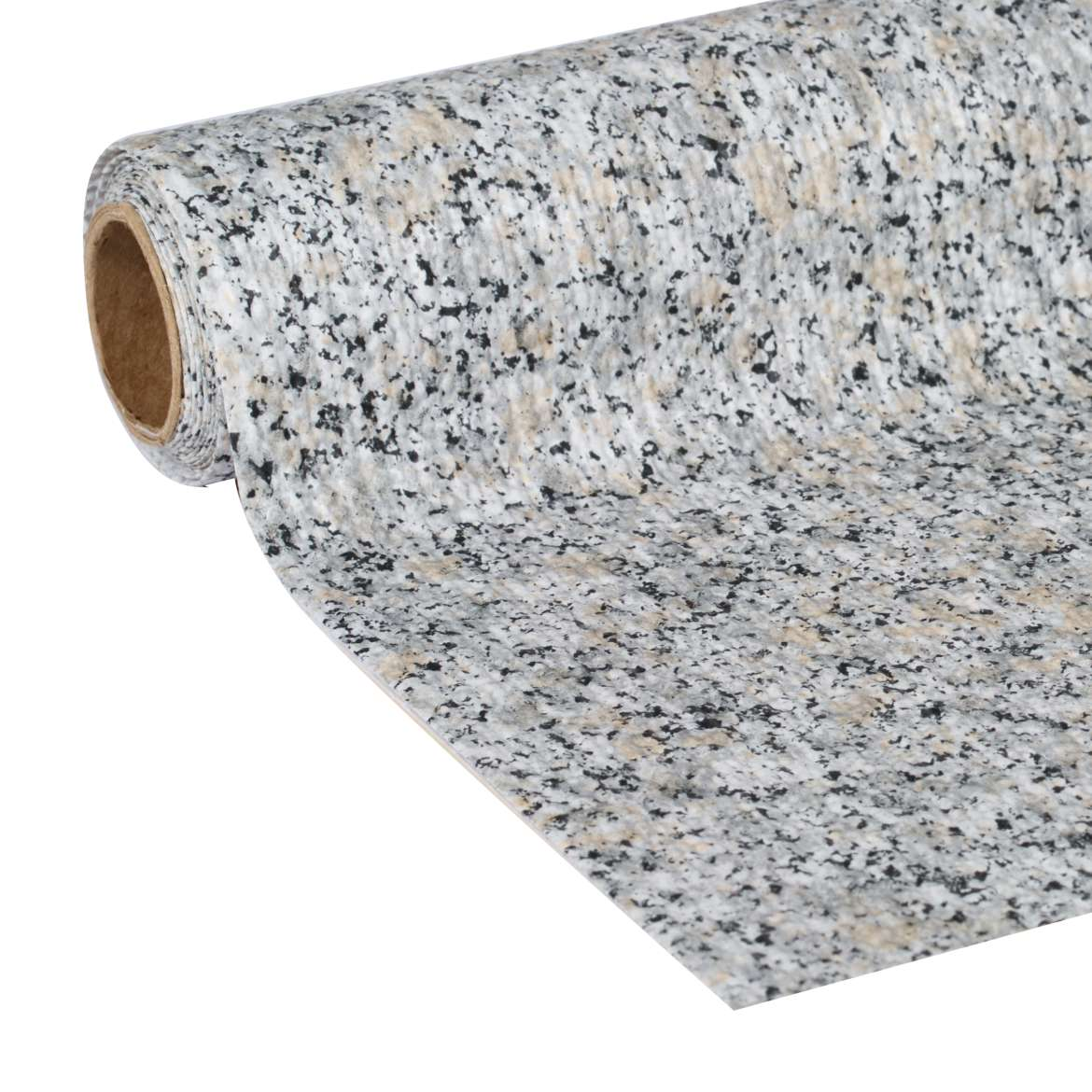 "Duck Brand, Smooth Top Easy Liner, Shelf Liner, 20""x 6', Grey Granite"