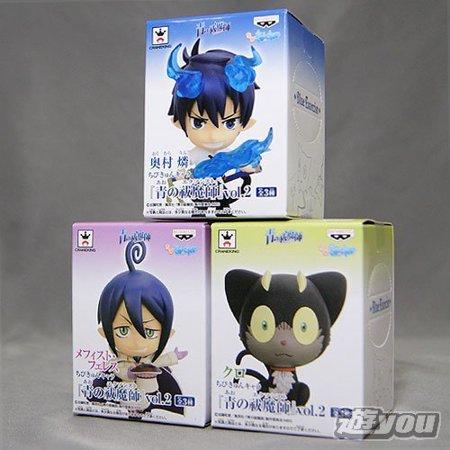 Characters Vol 2 All Three Set Banpresto Prize N Exorcist Chibi Queue Of Blue  Japan Import