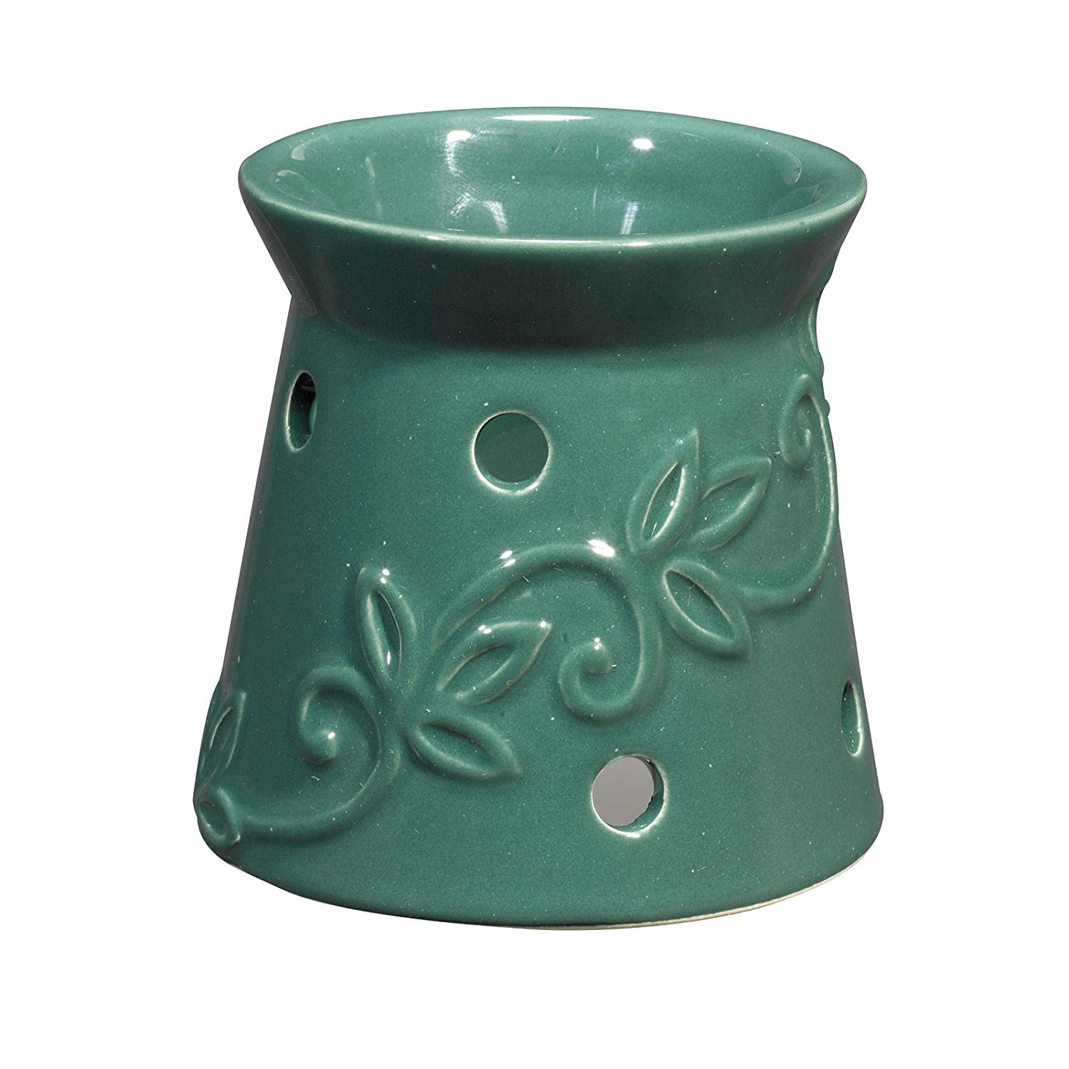 Westinghouse Night Light Fragrance Warmer: Green Design (1 Piece Promotional Vanilla Scented Disc included)