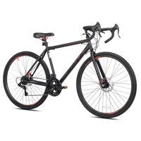 Kent Nazz Gravel Road Bike, Black, 700C Wheels