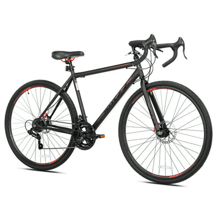 Kent 700c Nazz Mens Gravel Road Bike, Black