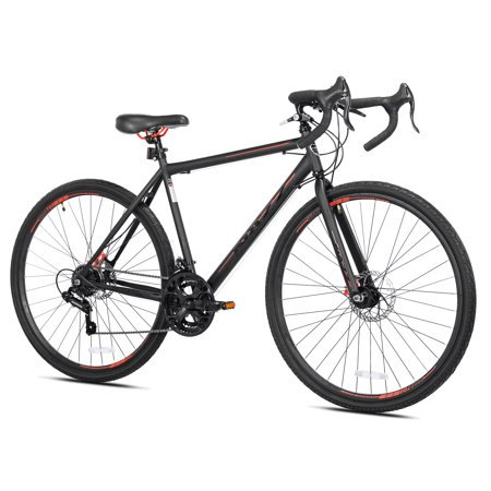 Kent 700c Nazz Men's Bike, Black, For Height Sizes 5'4