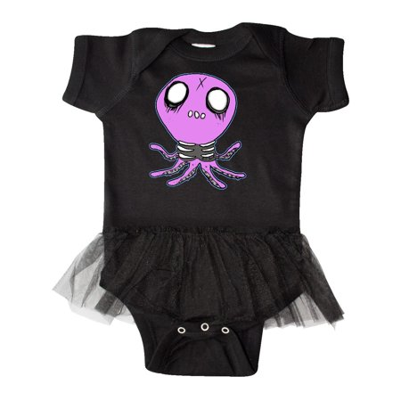 Death Metal Octopus Infant Tutu Bodysuit