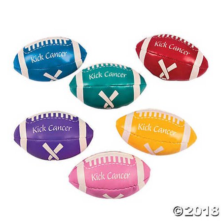Kick Cancer Awareness Event Football Assortment](Football Themed Events)