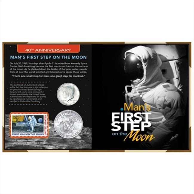 American Coin Treasures 357 40th Anniversary Man First Step on the Moon