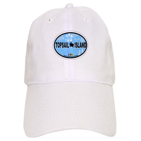 CafePress - Topsail Island NC - Oval Design - Printed Adjustable Baseball - Topsail Island