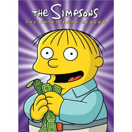 The Simpsons: The Complete Thirteenth Season (DVD) (The Simpsons Halloween Burger King)