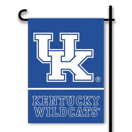 Kentucky University Embroidery (University of Kentucky Wildcats Country Garden Flag )