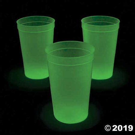 Extra Large Glow-in-the-Dark Cups - Glow In The Dark Cups Wholesale