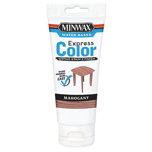 Minwax Mahogany Water Based Express Color Wiping Stain & Finish