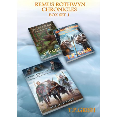 Remus Rothwyn Chronicles Box Set 1: Books 1-3 - eBook