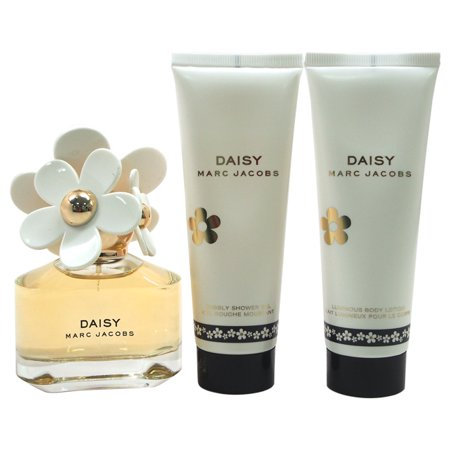 Gs Daisy - Marc Jacobs Daisy 1.7oz Eau De Toilette Spray, 2.5oz Luminous Body Lotion, 2.5oz Bubbly Shower Gel 3 Pc Gift Set