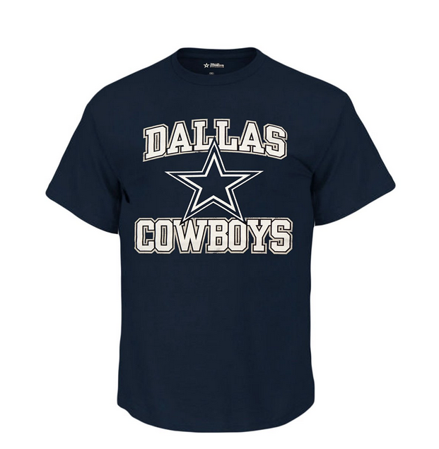 Cowboys Authentic Mens Starter T Big and Tall Sizes