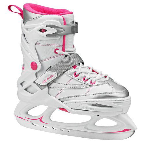 Lake Placid Monarch Girls' Adjustable Ice Skates