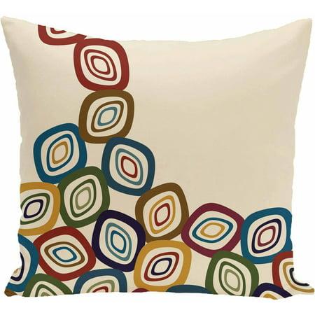 Simply Daisy Geometric Print Decorative Pillow, 16