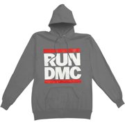 Run DMC Men's  Grey Hooded Sweatshirt Grey
