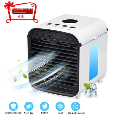3 in 1 Air Cooler Quick & Easy Way to Cool Air Conditioner USB & Rechargeable Style Red Air Conditioning