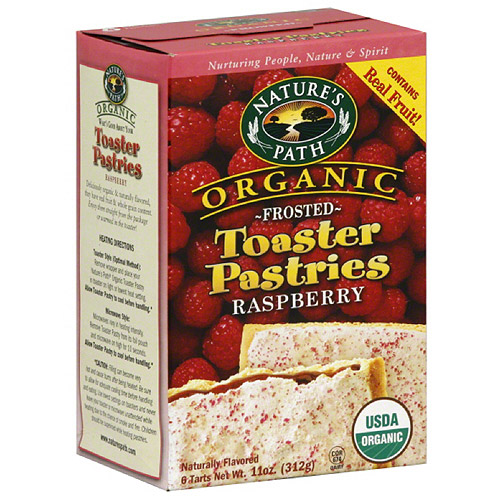 Nature's Path Organic Frosted Raspberry Toaster Pastries, 11 oz (Pack of 12)