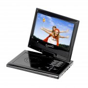 Supersonic 9″ Portable DVD Player with Swivel Display