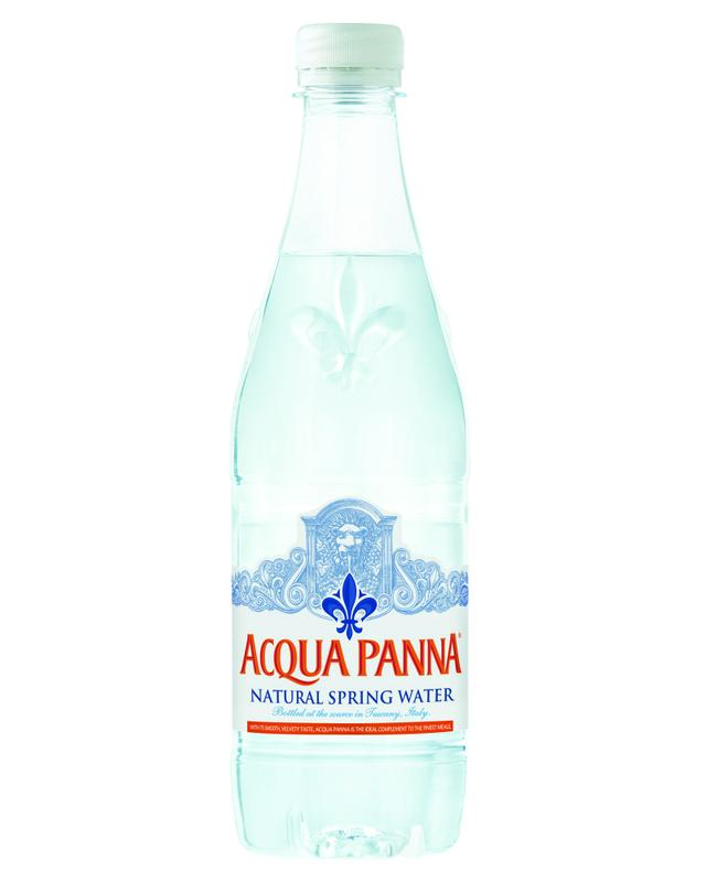 Acqua Panna Natural Spring Water, 16.9-ounce plastic bottles (Pack of 6) by Nestle Waters