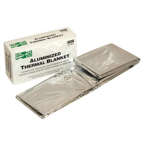 Disposable Emergency Blanket, Pac-Kit, 21-005G