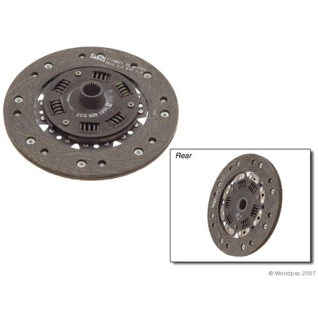 Sachs Clutch Disc - Sachs W0133-1604292 Clutch Friction Disc for Porsche Models