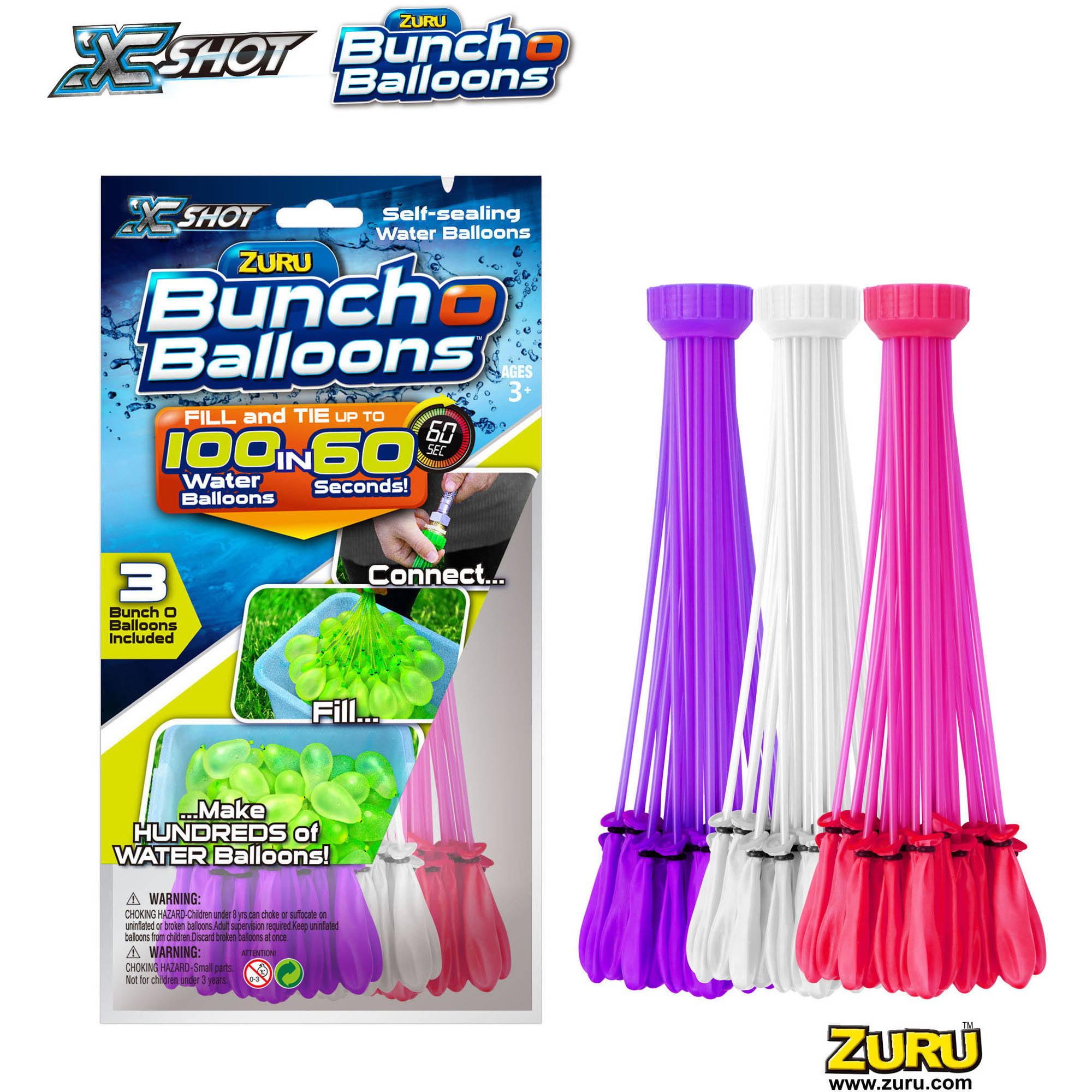 ZURU Bunch O Balloons 3pk Foilbag, Girl