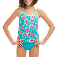 Dolfin Uglies Girls Two Piece Tankini in Multiple Colors and Sizes