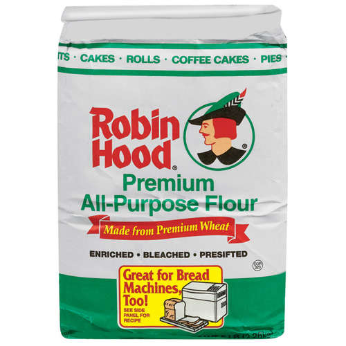 Robin Hood: Premium All Purpose Enriched Bleached Presifted Flour, 5 Lb