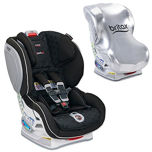 Britax Advocate ClickTight Convertible Car Seat with Sun Shield, Circa
