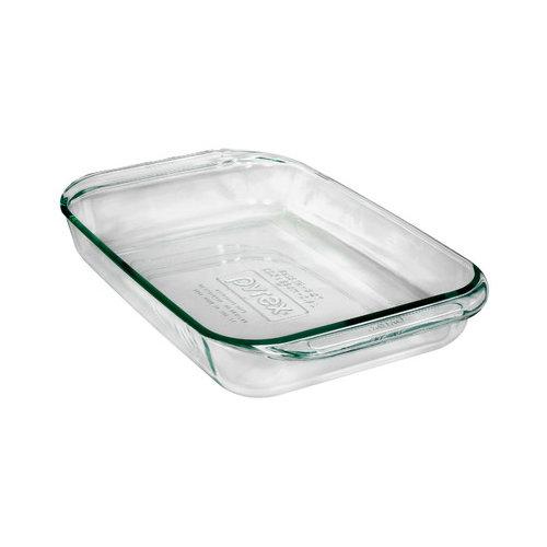 Pyrex 3 Qt. Grip-Rite Oblong Baking Dish (Set of 4)