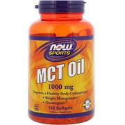 NOW Foods Mct Oil 1,000 Mg Softgels 150 Softgels