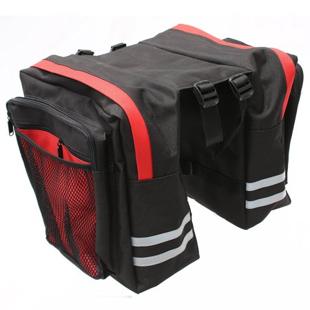 Pannier Bike Bag (VENZO 600D 34L Bike Bicycle Water Proof Pannier Bag)