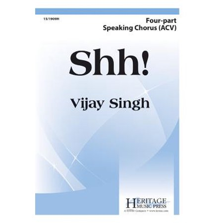 Shh!-Ed Octavo - Speech Choir - Vijay Singh - Sheet Music - - This Is Halloween Sheet Music Choir