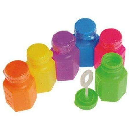 Neon Party Bubble Bottles - Bubble Bottle